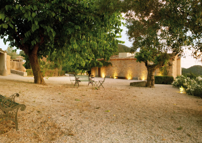 jardin finca - Finca Andratx