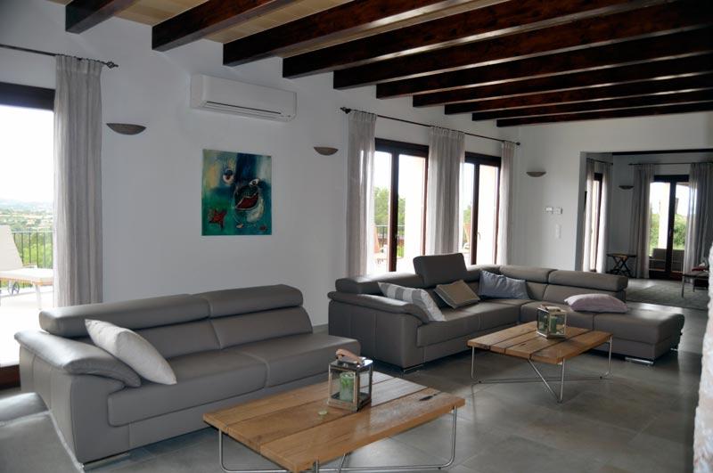 Wohnzimmer Teil 1 - Finca Rose