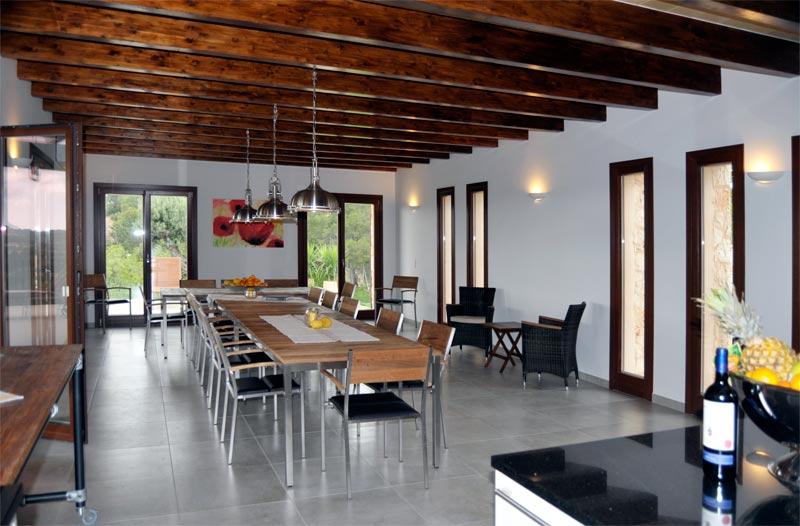 küche essbereich - Finca Rose