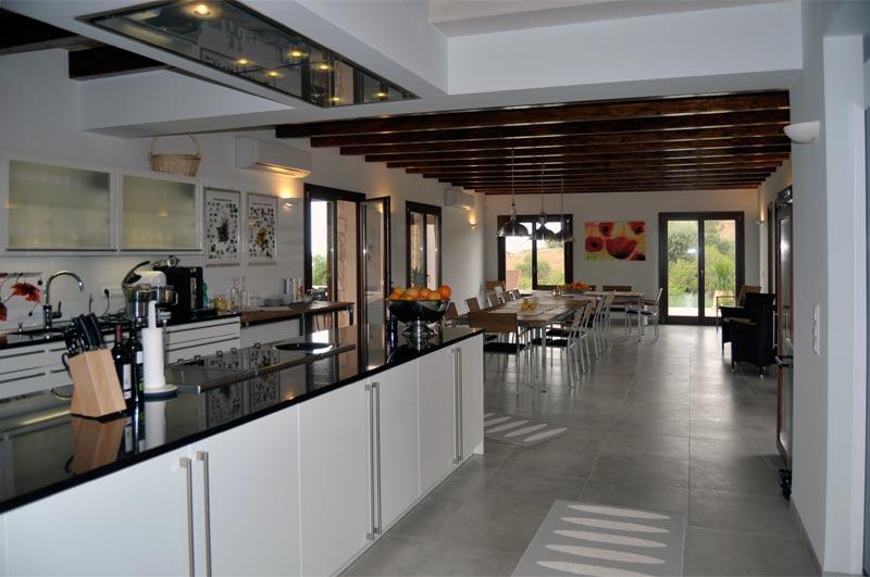 küche essbereich2 - Finca Rose
